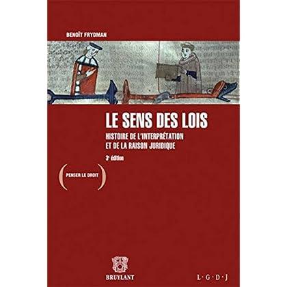 Le sens des lois: Histoire de l'interprétation et de la raison juridique