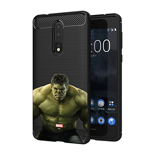 MTT Hulk Infinity War Officially Licensed Armor Back Case Cover for Nokia 8 (Design 260)  available at amazon for Rs.599