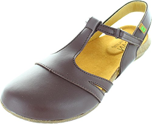 El Naturalista  N5062 Brown, Chaussures de ville à lacets pour femme marron VEGANO BROWN VEGANO BROWN