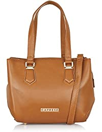 Caprese Women's Tote Bag Faux Leather (Saddle)