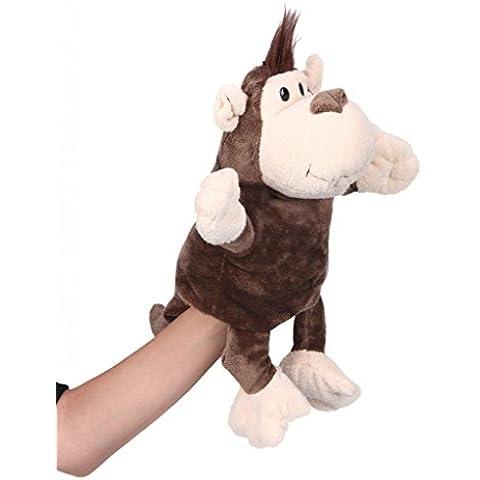 La vogue Marionetas De Mano 3D Diseño De Animal (#9 Orangután)