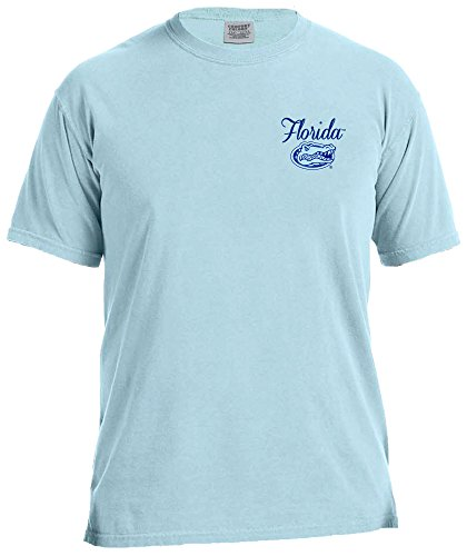 Image One NCAA Florida Gators Damen-T-Shirt, kurzärmlig, Größe L, Chambray - Florida-t-shirts