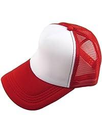 INTERNET Gorra de béisbol Casual Unisex Sombrero de Visera de Malla Ajustable