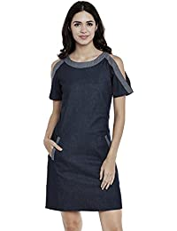 Athena Denim Pocket Dress