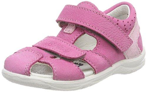 Ricosta Mädchen Kaspi Geschlossene Sandalen, Pink (Peony), 24 EU
