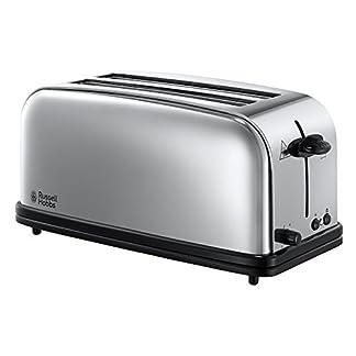 Russell-Hobbs-23520-56-2-Schlitz-Langschlitz-Toaster-Chester-2-extra-breite-Toastschlitze-Brtchenaufsatz-1600-Watt-Edelstahl