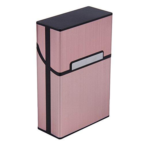 Blue Vessel Leichte Aluminium-Zigaretten-Zigarre-Kasten-Taschen-Kasten-Behälter-Speicher-Halter (Rose Gold)