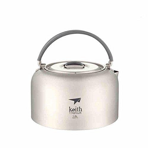 Keith Titanium Wasserkocher - 1 0 Liter Travel tragbaren Wasserkocher