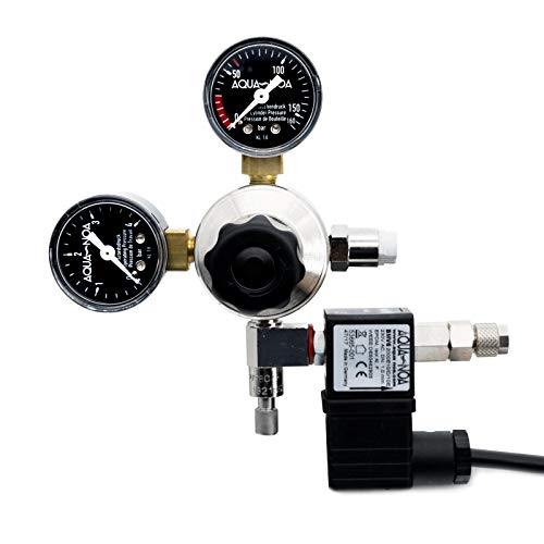 AQUA-NOA CO2 Druckminderer Profi mit int. Magnetventil mit Rückschlagventil -