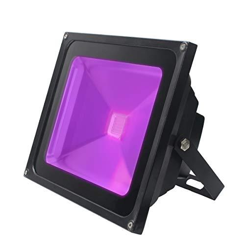 ARTKIDA UV LED Luz Negra 50W Violeta Luz de La Etapa Impermeable Lámpara Barra Ultravioleta Iluminación...