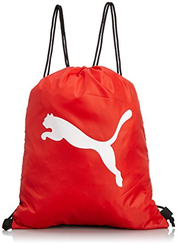 PUMA Turnbeutel Pro Training Gym Sack, black/red/white, 38 x 48 x 0.5 cm, 1.0 liter, 072942 02
