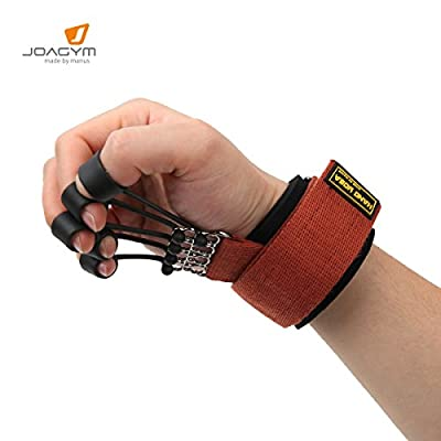 Joagym Finger Stretcher Hand Resistance Bands Extensor Exerciser Trainer
