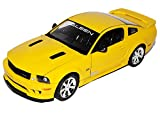alles-meine.de GmbH Ford Mustang Saleen S281 E Coupe Gelb V 1. Generation 2004-2010 1/18 Welly Modell Auto