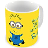 Illuminati Gifts You Are 1 In A Minion Didi Beautiful Design Printed Multicolor Ceramic Coffee Mug - 325 Ml Rakhi Raksha Bandhan Gift For Sister, Rakshabandhan Return Gift For Sister