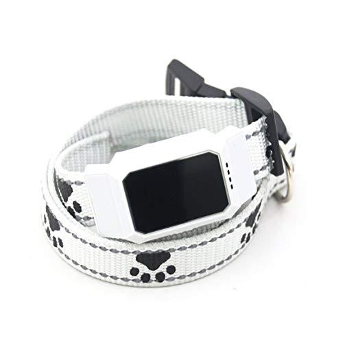 HarveyRudol85 [Ausgezeichnet] D35 wasserdichte GPS-GSM Pet Tracker kostenlose App für Mobile Anti verlorenes Halsband Finder -