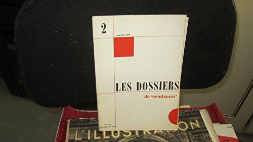 Les dossiers de tendances,N°2-1968/7 fascicules: la poésie - l'activité de l'état- la police - le secteur coopératif - les syndicats - le niveau de vie - le peuple français,1968 par Collectif