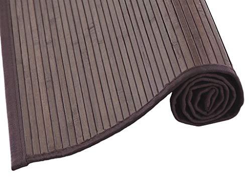 MI CASA Mi Alfombra de Bambu 70 x 250, Marron, 70 x 250 cm