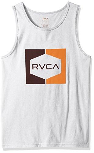 rvca-mens-invert-hex-tank-white-x-small