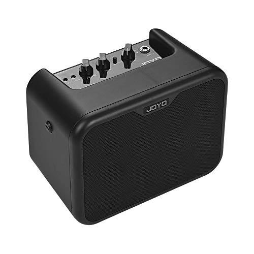 Kalaok MA-10E Mini altavoz amplificador de guitarra eléctrica portátil 10 vatios Amp OD/canales dobles limpios con adaptador de corriente
