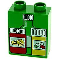 Lego Duplo Supermarkt Motivstein Supermarktschild