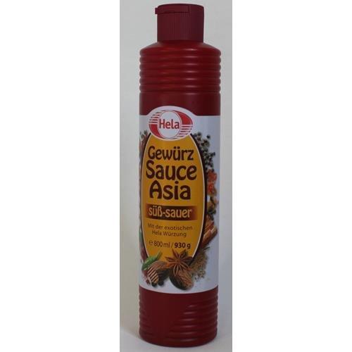 Hela, Hela Gewürz Sauce Asia süss sauer 800ml
