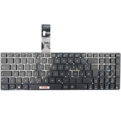 Version 2 - Deutsche (QWERTZ) Tastatur - für Asus F751MA-TY042H, F751SA-TY120T, F751LJ-TY296T, F751MA-TY043H, F751SJ-TY012T, F751LJ-TY307T