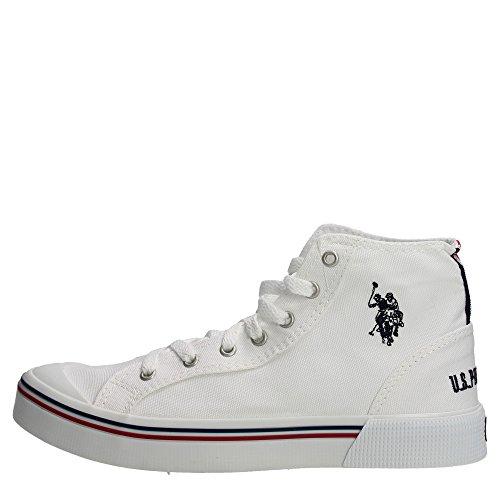 U.s. Polo Assn GYNN4268S6/C1 Sneakers Uomo Tessuto BIANCO BIANCO 41