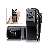 Soviton Black Sports Video Camera Mini DVR Camera Mini DV Hidden Camera SPY Camera Support 4GB 8GB TF Card