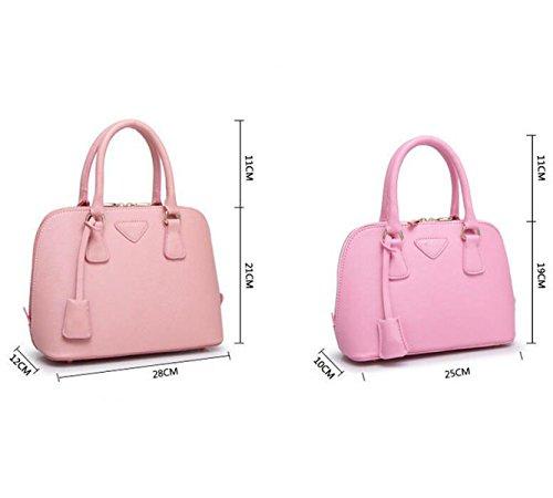 Handtaschen Mode Kuriertasche Schultertasche Handtasche Shell Paket Einfache Wilde Atmosphäre Pink
