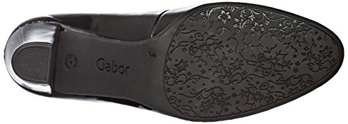 Gabor Shoes Comfort Fashion, Scarpe con Tacco Donna Nero (87 Schwarz)