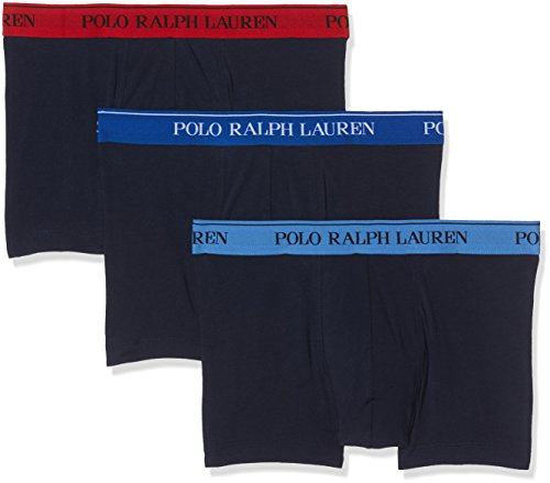 Polo Ralph Lauren Herren Pants 3PK Sapp BLU/NVY/RED Shorts, Mehrfarbig 007, XX-Large (Ralph Hosen Lauren Stretch)