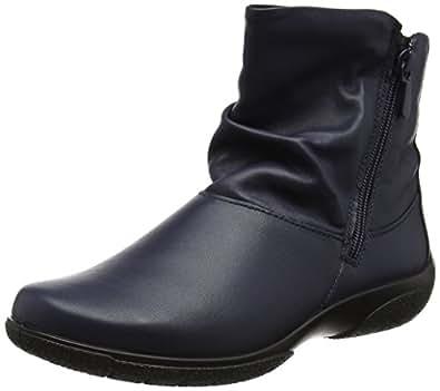 Hotter Women's Whisper Slouch Boots, Blue (Navy), 4 UK 37 EU