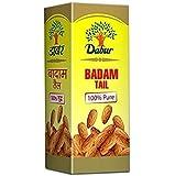 Dabur Badam Tail - 100% Pure Almond Oil - 100 ml (Pack of 2)