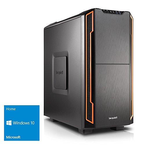 Preisvergleich Produktbild Kiebel [184384] Silent Gaming PC Intel i7 8700 (6x3.2GHz) Turbo bis 4.6GHz / 16GB DDR4 / 250GB M.2 SSD + 1TB HDD / NVIDIA GeForce GTX 1070Ti 8GB / Win10 / leiser Spiele Computer