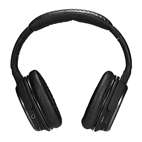 Hmeng Auriculares, Over-ear Bluetooth Hi-fi Stereo Headphone Wireless Earbud Noise-cancelling Stereo Headset with Microphone for Smart Phones Tablets