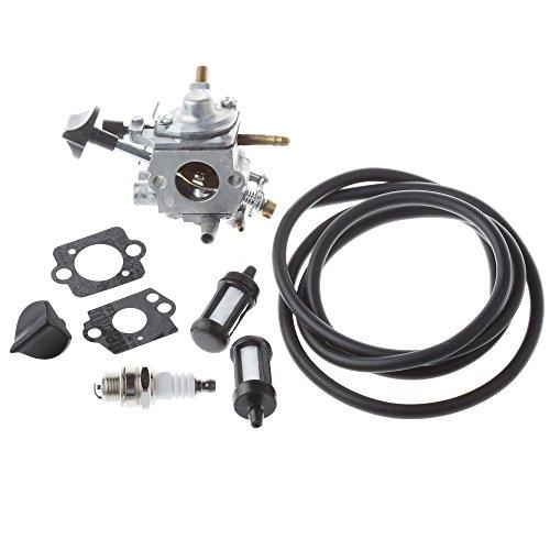 HIPA Carburateur avec Filtre Bougie d'Allumage pour Souffleurs à Dos STIHL BR500 BR550 BR600