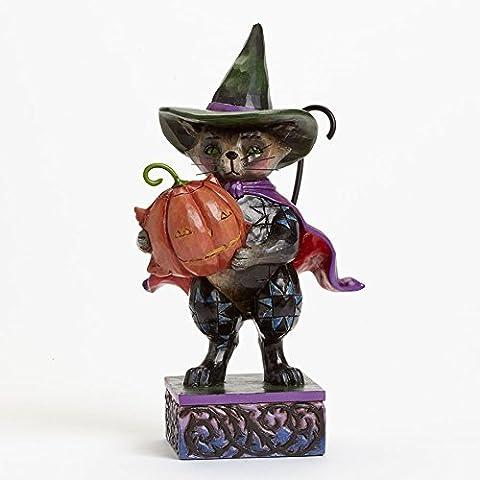 Jim Shore for Enesco Heartwood Creek Pint Sized Halloween Cat Figurine, 5.5-Inch by Jim Shore (Halloween Jim Shore)