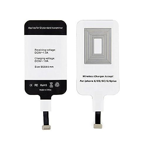 LEAPCOVER® Universel Haute Qualité Qi Récepteur Chargeur Sans Fil Charge