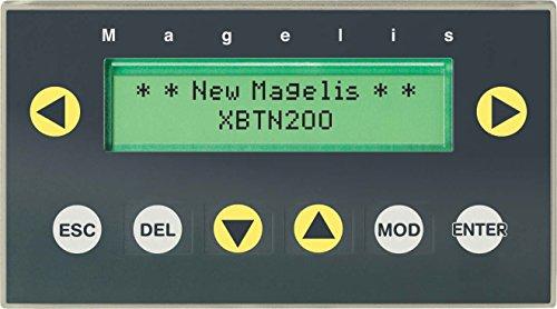 Schneider XBTN200 Kompakte Klartextanzeige Magelis, Alphanum. Anzeige, grün, 5 V DC, 8 Tasten