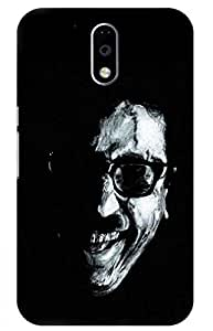 iessential kamal Designer Printed Back Case Cover for Moto G Plus 4th Gen
