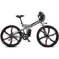 JPFCAK, Bicicleta Plegable Eléctrica Ciudad Bicicleta Bicicleta De Carretera Hombre/Mujer 250 W *