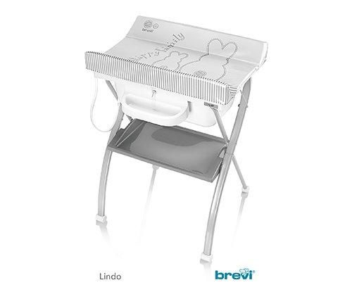 Bañera cambiador con ruedas Lindo Bianconiglio 501