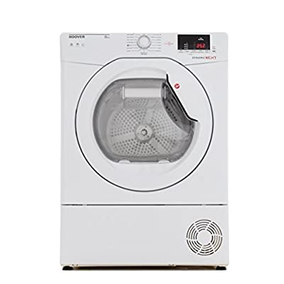 Hoover DXC8DE Tumble Dryer Condenser White 8kg Sensor B Energy Rating Delay Start Digital Display from Hoover