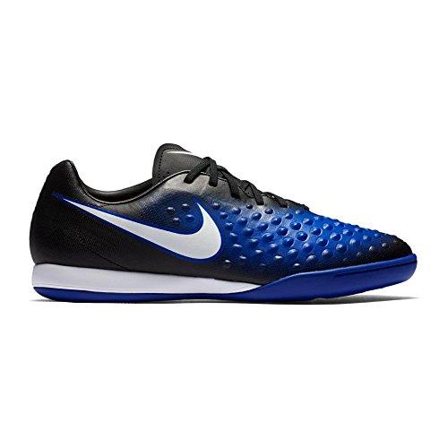 Nike Magista X Onda Ii Ic, Scarpe da Calcio Uomo Blu (Black/white-prmnt Bl-bl Tnt)