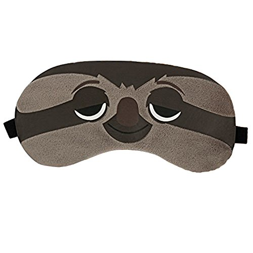 grandey 1 Bunny/Tiger/Fox/Faultier Schlafmaske Rest Reisen Relax Schlafsack Hilfe Augenbinde Ice Cover Eye Patch Schlafmaske Fall, Faultier