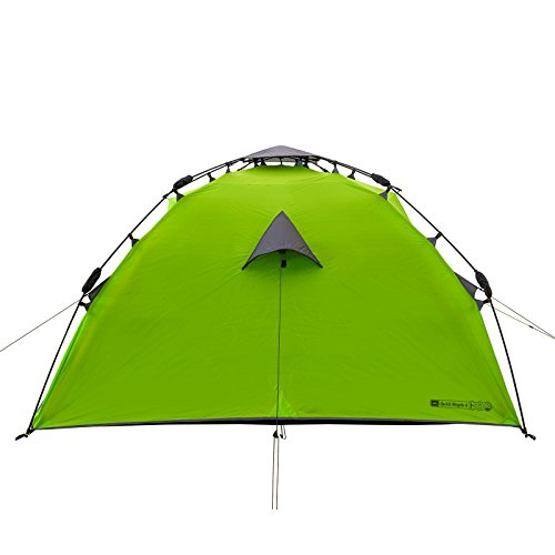 4 Mann Sekundenzelt Qeedo Quick Maple 4, Campingzelt mit Quick Up System, Innenhöhe: 140 cm - Grün - 6