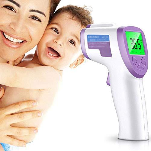 WanZhuanK Termómetro bebé Oreja termómetro Frente