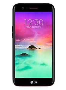 LG K10 2017 Smartphone 4G LTE, Schermo HD da 5.3 pollici, Fotocamera da 13 MP, Processore Octa Core da 1.5 GHz, 2 GB di RAM, 16 GB di Memoria Interna espandibile fino a 64 GB, 2800 mAh di Batteria, Nero [Italia]