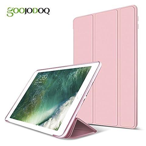 Goojodoq pour nouvel iPad 2017Coque, résistant aux chocs Paillettes Coque