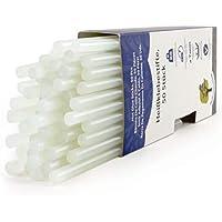 ProfessionalTree ® 50 Heißklebesticks - 7 x 200 mm rund - Extra-Power Klebstoff für gängige Heißklebepistolen zur sauberen Verklebung diverser Materialien - lösemittelfrei transparent schnelltrocknend